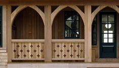 Diamond Jigsaw Porch Handrail | Deck Railing Ideas