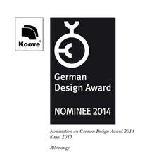 Koove - German Design Award - Nominee 2014