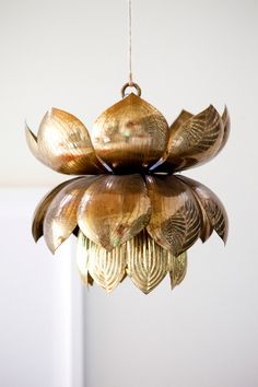 The Pursuit of Style | Lotus Chandelier