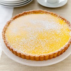 Looking for the perfect dessert to bring to a party? Our Lemon tart is a tasty sweet and tart option.