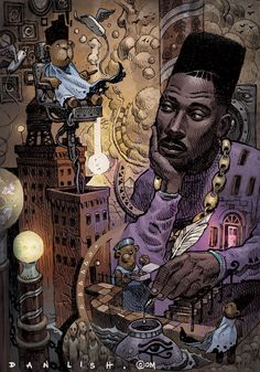 Big Daddy Kane by Dan Lish Part of the Ego Strip series… African American Art, African Art, Arte Do Hip Hop, Big Daddy Kane, Black Art Pictures, Hip Hop And R&b, Afro Art, Hip Hop Artists, Dope Art