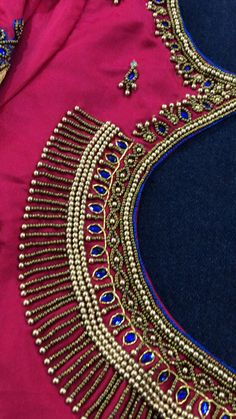 New Saree Blouse Designs, Cutwork Blouse Designs, Kids Blouse Designs, Bridal Blouse Designs, Princess Cut Blouse Design, Traditional Blouse Designs, Mirror Work Blouse Design, Maggam Work Designs, Indian Embroidery