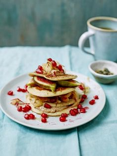 Protein pancakes | Jamie Oliver