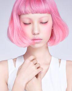 Scene Hair — koreanmodel: Park Hee Jeong for Sure Korea March...