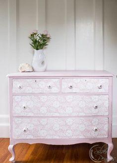 Pretty Lace Dresser