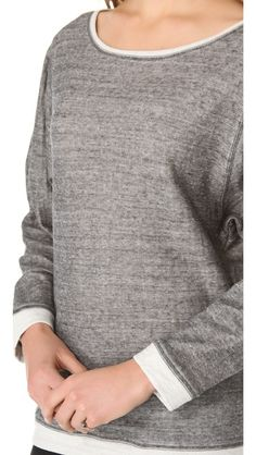 Nightcap Clothing Duofold Dolman Sweatshirt