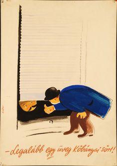 A hirdetőoszlop humoristái – vicces reklámplakátok az évekből Old Posters, Illustrations And Posters, Vintage Posters, Vintage Humor, Vintage Ads, Restaurant Pictures, Poster Ads, Graphic Design Illustration, Vintage Advertisements