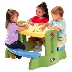 Little Tikes Adjust N' Draw Table