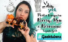 DIY PORTA TEMPEROS HARRY POTTER ❤ #GEEKTUBERS