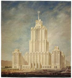 In Drawings, The Historical Trajectory of Soviet Architecture - Archdaily
