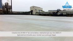 #béton #voirie #gel