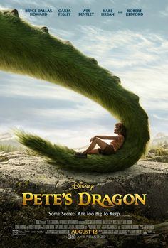 Directed by David Lowery. With Bryce Dallas Howard, Robert Redford, Oakes Fegley, Oona Laurence. The adventures of an orphaned boy named Pete and his best friend Elliott, who happens to be a dragon. Elliott Le Dragon, Pete Dragon, Petes Dragon Movie, Dragon Movies, New Movies, Movies Online, Good Movies, Movies Free, Ranger