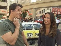 While fans eagerly await the return of Transformers to the big screen with Age of Extinction, ET takes you to the set of the series' action-packed fourth ins. Mark Wahlberg Marky Mark, Actor Mark Wahlberg, Transformers 4, Entertainment Tonight, Explosions, Upcoming Movies, Big Star, Celebrity News, Tv Shows