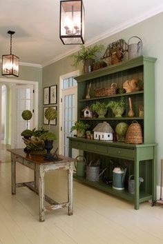 Beautiful hutch...love all the goodies in and on it---The Buffett Hutch can be purchased from The Old Mercantile in Clarksville Tn---Facebook----931-552-0910