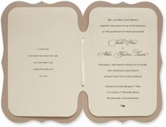 Storybook Sand DIY Wedding Invitations | InviteSite