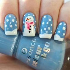 My nails this Christmas 2014