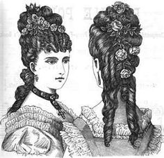 Image detail for -Victorian Era Hairstyles