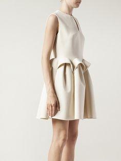 DELPOZO - peplum shift dress 8