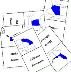 updated usa geography maps printables activities word search quizzes teaching lessons - State Printables