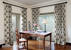 #Smithandnoble #WoodBlinds #Windowtreatments