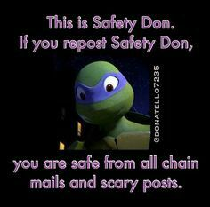 Safety Don.....MY SENPAIIIIII AJXJSNDKZZXNDMEKX!!!!!
