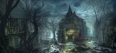 #town #night