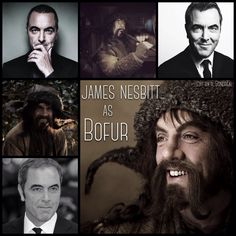 James Nesbitt as Bofur by Heather Sondreal