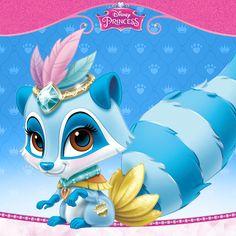 Disney Princess Palace Pets - Windflower (Pocahontas's raccoon)