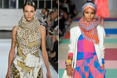 Big blanket scarves are HUGE this fall (helloooo @donnicharm) !!!!!!!!