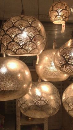 Modern moroccan lamps * Shock of the Lighting * Alina Contreras