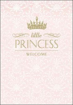 Our new additions are the perfect way to welcome a little princess into the world. Welcome Baby Girl Quotes, Welcome Baby Girls, Baby Quotes, Baby Co, Baby Birth, Congratulations Baby Girl, Baby Girl Wishes, Baby Girl Born, Baby Posters
