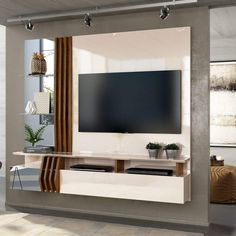 Modern Built In Tv Wall Unit Designs for your home. Wall Unit Designs, Living Room Tv Unit Designs, Tv Stand Designs, Modern Tv Room, Modern Tv Wall Units, Tv Cabinet Design, Tv Wall Design, Siena, Home Para Tv