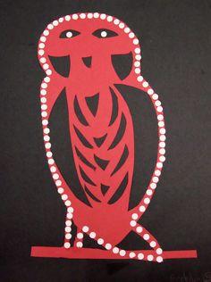 Northwest Coast Native American Button Blanket Design; 4th grade