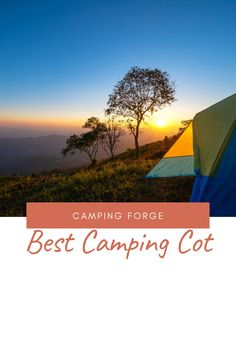 The best way to improve your camping tent sleeping is to sleep on a cot. See what our favorites are. Camping Cot, Diy Camping, Camping Gear, Camping Hacks, Outdoor Camping, Glamping, Outdoor Gear, Camping Products, Camping Supplies