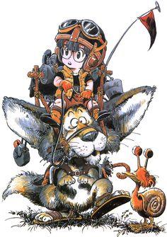 TORIYAMA Akira (鳥山明 ), Dottor Slump & Arale / Dr. Slump / Dr. スランプ / ドクタースランプ