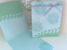 Simply Simple 2-MINUTE TUESDAY TIP - Design a Card with No Waste by Connie Stewart - YouTube