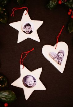 Salt Dough Picture Frame Ornaments, DIY and Crafts, Salt dough picture frame ornaments, such a fun Christmas craft to make with kids. Plus the best salt dough recipe ever! Salt Dough Christmas Decorations, Salt Dough Ornaments, Christmas Crafts To Make, Christmas Activities, Diy Christmas Ornaments, Homemade Christmas, Christmas Projects, Kids Christmas, Holiday Crafts