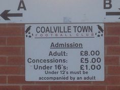 Saw Coalville Town v Rugby Town 5-4 Win keeps Coalville Town firmly in a play off position.