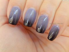 Ichor Clear to Black Color Changing Handmade by InDecisiveLacquer