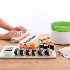 Lekue Sushi Kit with Rice Cooker Sushi Set, Cooking Sushi Rice, Avocado, Arroz Frito, Oriental, Fast Food, Employee Gifts, Dim Sum, Sashimi