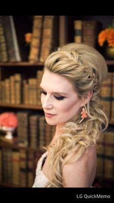 Beautiful side brade!!!