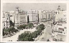 """""""Plaza del Caudillo"""" (actual Plaza del Ayuntamiento),  Valencia"""