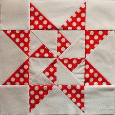 around the world quilts   Quilt Around The World - round 2 starter block - a photo on Flickriver
