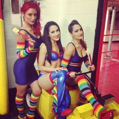 The Bella Twins & Eva Marie