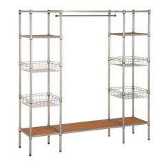 Honey-Can-Do, 68 in. x 16.5 in. Freestanding Closet Organizer, WRD-02350 at The Home Depot - Mobile
