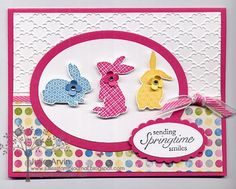 Ears to You Easter by Julie Bug - Cards and Paper Crafts at Splitcoaststampers Stampin' Up!: