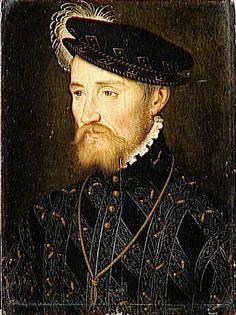François Clouet, Portrait of François I de Lorraine, Duc de Guise, c. 1560