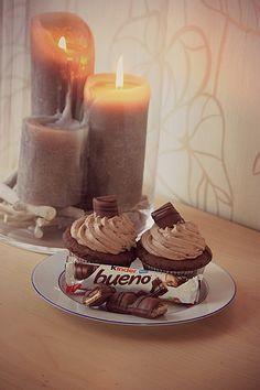 Kinder Bueno-Cupcakes