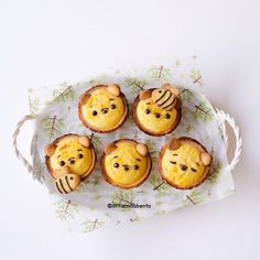 Recipe Pooh Bear Baked Cream Cheese Tarts