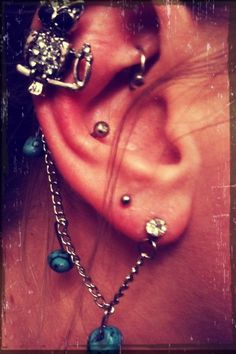Ear piercings and such